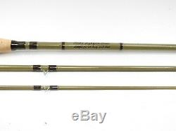 Orvis Superfine Glass Fiberglass Fly Rod. 7' 6 4wt. With Tube and Sock