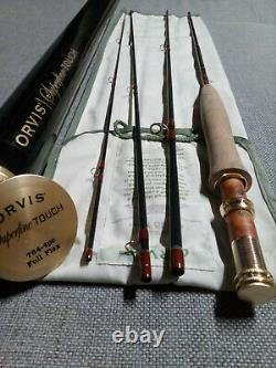 Orvis Superfine Touch 7'6'', #4 weight, 4 pcs. Mint condition very rare fly rod
