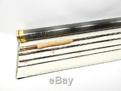 Orvis Superfine Touch Fly Fishing Rod. 8'6 5wt. Full Flex. With Tube and Sock
