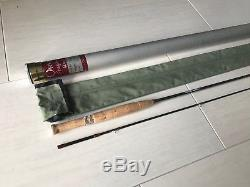 Orvis Ultrafine Fly Fishing Rod. 7 9. 2wt. With Tube and Sock
