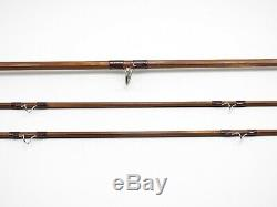 Orvis Wes Jordan Bamboo Fly Fishing Rod. 8' 4 3/8oz. With Tube and Sock
