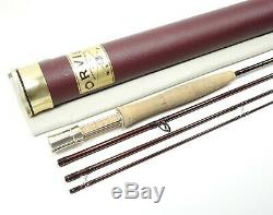 Orvis Zero Gravity Fly Rod. 865-4 Mid Flex 6.5. 8 1/2' 5wt. With Tube and Sock