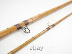 Pezon Et Michel Bamboo Fly fishing Rod. 8' 2. 2/1