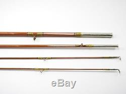 Phillipson Pacemaker 51 Bamboo Fly Fishing Rod. 8' 4 1/4oz. With Tube and Sock