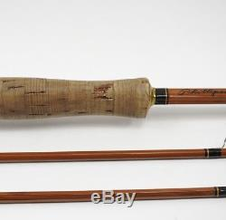 Phillipson Premium Bamboo Fly Fishing Rod. 7 1/2' 3 3/4oz. With Tube and Sock