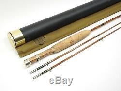 R. A. Fick Midge Bamboo Fly Fishing Rod. 6' 6 3wt. With Tube and Sock