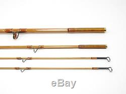 R. L. Winston Bamboo Fly Fishing Rod. 8' 5wt. 3/2. With Tube and sock