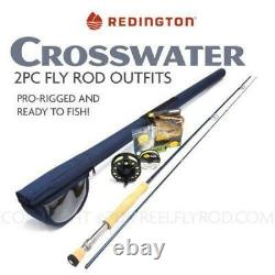 Redington Crosswater Fly Rod Reel Combo Outfit 8wt / 9ft
