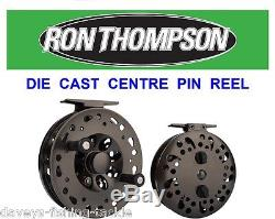 Ron Thompson Centrepin Reel For Fly Rod Fishing Line Trout Salmon Center Pin