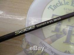 SAGE GRAPHITE 389 LL #3 8'9 Fly Rod Fishing F/S From JP