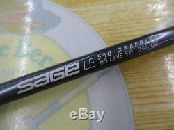 SAGE Graphite 1 590 LE #5 9'0 Fly Rod Fishing F/S From JP
