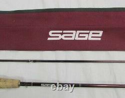 SAGE Graphite 486LL #4 8'6 4P Fly Rod Fishing withSoft case
