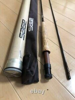 SAGE Graphite RPL690 # 6 9 ft Line 2 Piece Fly Rod Fishing with Bag case