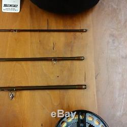 SAGE SLT CA 490-4 CENTER AXIS GRAPHITE IIIe FLY FISHING ROD