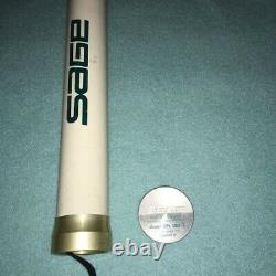 SAGE SPL 8ft #0 3piece Fly Rod Fishing withcase F/S very good