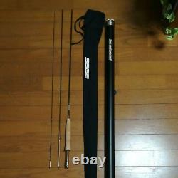 SAGE TXL 7'10 #00 3piece Fly Rod Fishing withcase F/S