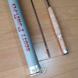 SCOTT PowR-Ply Fly Fishing Rod 7.5ft 3wt w / Cover Used