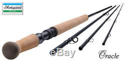 SHAKESPEARE ORACLE SPEY SALMON FLY FISHING ROD ALL MODELS 12ft-15ft