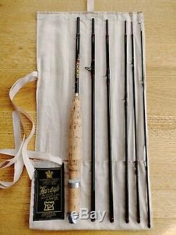 STUNNING Hardy Smuggler 7ft, #5 wt, six piece fly rod with Original Leather Tube