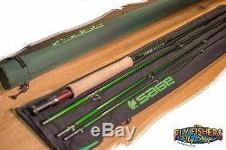 Sage ACCEL 486-4 4wt 8'6 4pc Fly Fishing Rod Warranty Card FREE SHIPPING