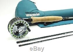 Sage Center Axis SPL 484-3 Graphite IV Fly Rod & 3200 Reel. With Case