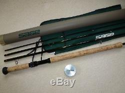 Sage D/h Salmon Fly Fishing Rod Graph IV 9141-4 Reduced