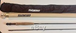 Sage Graphite III Model RPL 586 Fly Fishing Rod with Sleeve and Case-Nice