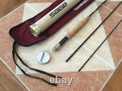 Sage LL 7ft 9in 3wt 3pc 379-3 fly fishing rod withtube & sock (for 3wt line reel)