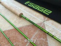 Sage MOD 490-4 9 4wt 4pc fly fishing rod withtube & sock (for 4wt line reel)