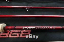 Sage Method 590-4 Fly Fishing Rod 5 Weight All Purpose Trout Fast Action Best X