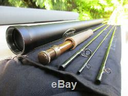 Sage ONE 590-4 Fly Rod 5-weight, 9-foot, 4-piece, 2 3/4OZ, very nice