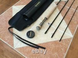 Sage ONE 9ft 8wt 4pc 890-4 fly fishing rod withtube & sock (for 8wt line reel)