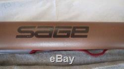 Sage SLT 590-5, fly fishing, travel rod, trout, grayling 5wt, tube and sock