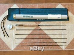 Sage SP 389-5 8ft 9in 3wt 5pc fly fishing rod withtube & sock (for 3wt reel line)
