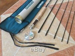 Sage SP 589-5 8ft 9in 5wt 5pc fly fishing rod withtube & sock (for 5wt reel line)