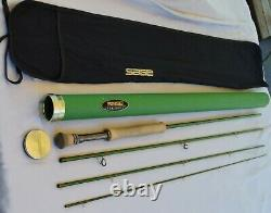 Sage TCX 10 foot 7 weight 4 piece fly rod 7100-04 10' 7 wt extra fast action