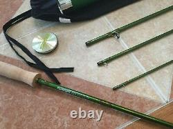 Sage TCX 691-4 9ft 6wt 4pc fly fishing rod withtube & sock (for 6wt line reel)