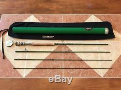 Sage TCX 9ft 8wt 4pc fly fishing rod pairs with 8wt or 9wt line reel 908 890-4 8 9