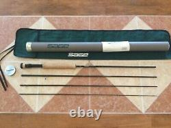 Sage XP 691-4 9ft 6wt 4pc fly fishing rod withtube & sock (for 6wt line reel)