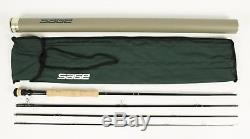 Sage XP 896 4 Fly Fishing Rod Sock Case & Tube 9'6 Line 8 4 Pieces