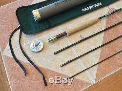 Sage XP 9ft 4wt 4pc 490-4 fly fishing rod withtube and sock (for 4wt line reel)