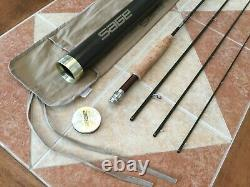 Sage Z-Axis 9ft 3wt 4pc 390-4 fly fishing rod withtube & sock (for 3wt line reel)