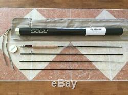 Sage Z-Axis 9ft 5wt 4pc 590-4 fly fishing rod withtube & sock (for 5wt line reel)