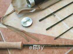 Sage Z-Axis 9ft 6wt 4pc 691-4 fly fishing rod withtube & sock (for 6wt line reel)