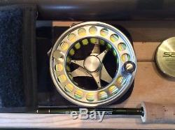 Sage Z Axis Fly Fishing Rod 12ft 6ins 6wt + loop 8-11 reel and line