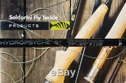 Sandro Soldarini fly fishing rods for river french leader. 10 foot 2 wt to 4 wt