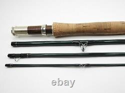 Scott E2 906/4 Fly Fishing Rod. 9' 6wt. With Tube and Sock