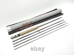 Scott G-Series G844/5 Fly Rod. 8' 4 4wt. 5-Piece. With Tube and Sock