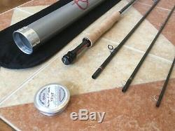 Scott Radian 1005-4 10ft 5wt 4pc fly fishing rod withtube (to use with5wt line reel)