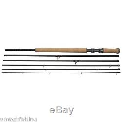 Shakespeare Oracle EXP 6 Pce Salmon Fly Rod3 SizesSalmon Fishing Spey Cast